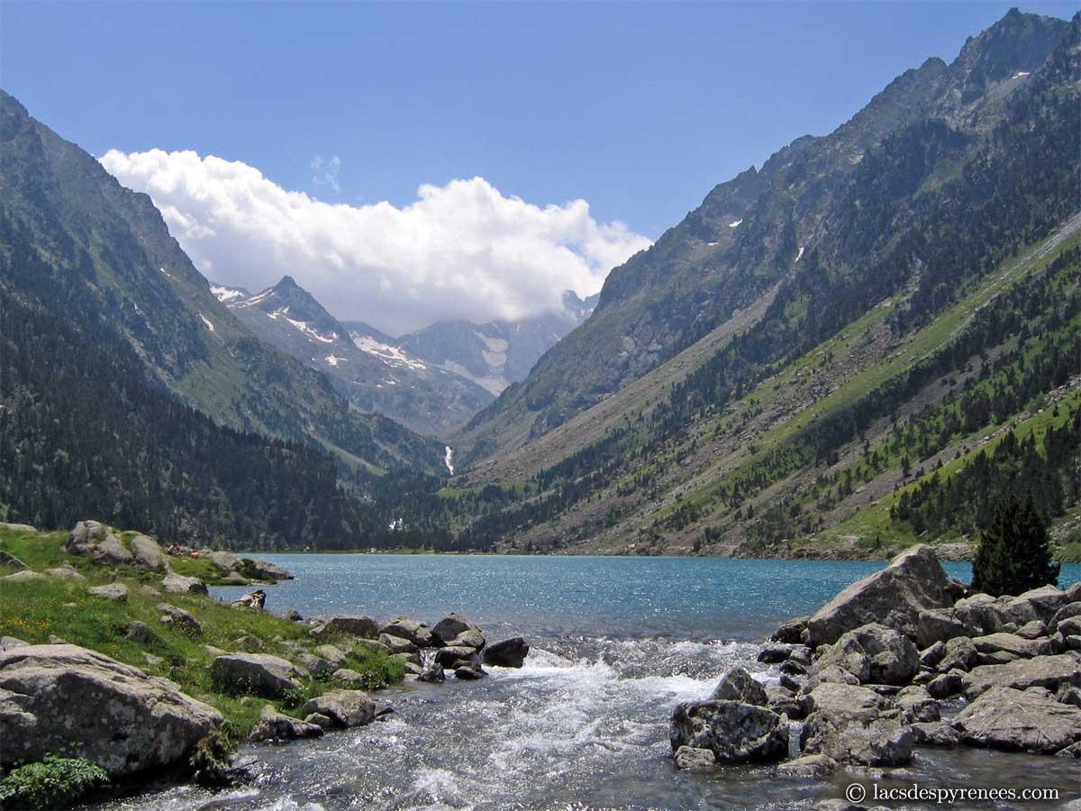 Lacs des pyr n es introduction - Lac de gaube ...