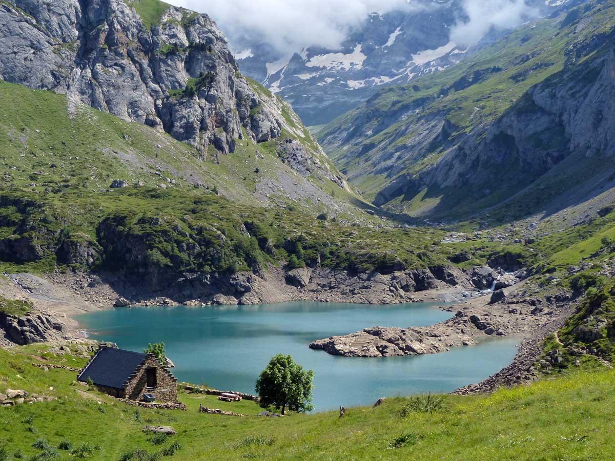 Barrage des gloriettes cirque d 39 estaub forum lacs des hautes pyr n es lacs des pyr n es - Barrage de l odeur ...