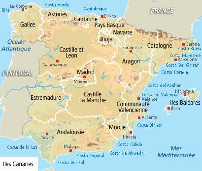 Costa De Valencia Espagne Carte.Abritel Homeaway Espagne