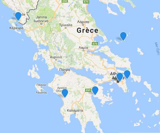 Grèce - Locations vacances en Grèce- ABRITEL : depot ou recherche